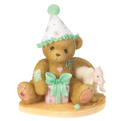 Cherished Teddies Age 8 Eighth Birthdays Are Trunks of Fun Through the Years Series 4020579 - NEW!