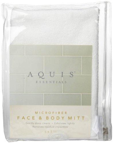 Aquis Microfiber Face Body Mitt product image