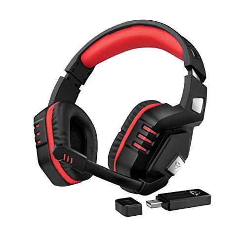 🥇 Trust GXT 390 Juga Auriculares inalámbricos para Gaming para PC y PS4