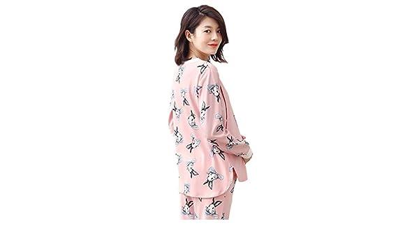 Ropa para Dormir Pijamas Mujeres Embarazadas Algodón Camisón Animales Lindos Impresión Embarazo Homedressing Moda Ropa de Lactancia Embarazadas Regalo Ropa para Dormir: Amazon.es: Hogar