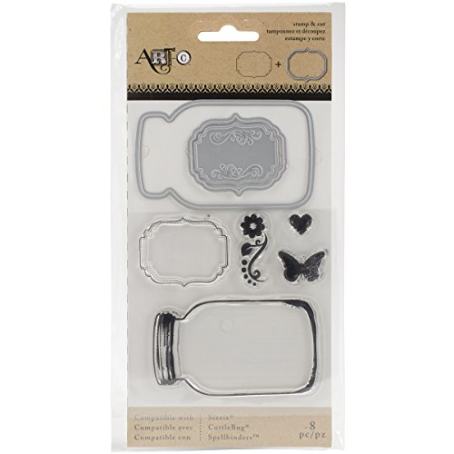 Momenta Stamp and Die Set, Mason Jars ()
