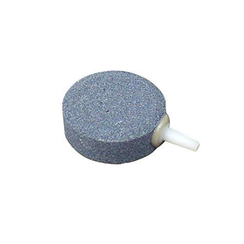 40mm Round Ceramic Air Stone Bubble Disk Aerator Aquarium Fish Tank Pond Air Pump by (Ceramic Bubbler)