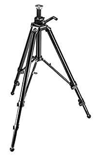 Manfrotto 475B Pro Geared Tripod Without Head (Black) (B000BKE8TS) | Amazon Products