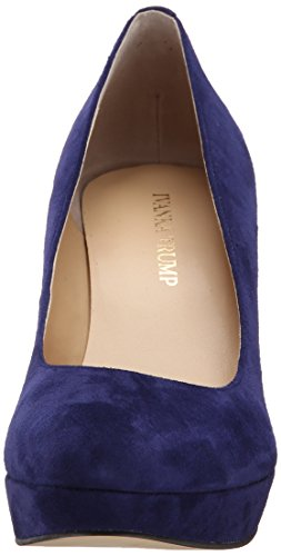 Ivanka Trump Womens Kimo Platform Pump Deep Blue