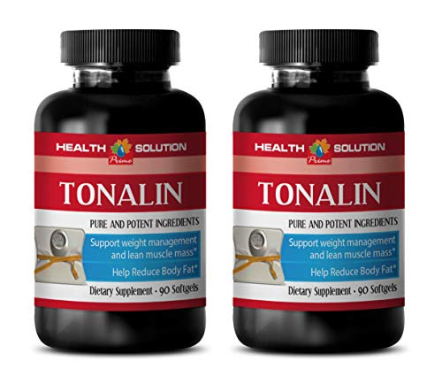 Energy Boost and Fat Burner Supplements - TONALIN 1250MG - Pure and Potential Ingredients - cla for Weight Loss - 2 Bottles (180 Softgels)