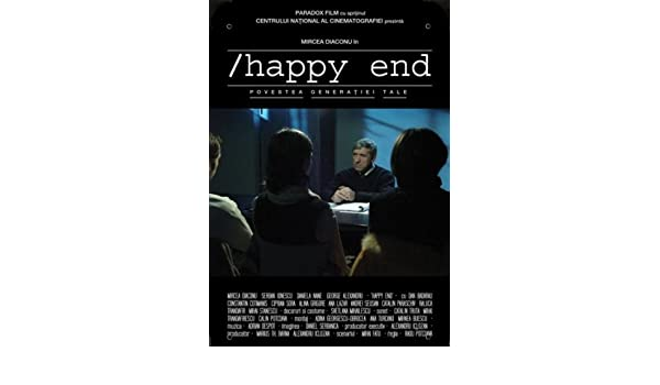 Romania Movie Happy End pelicula metal poster cartel hojalata signo 20x30cm: Amazon.es: Hogar