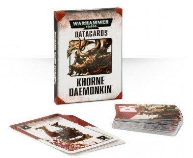 Data Cards Khorne Daemonkin Warhammer 40,000