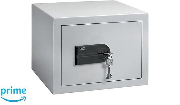 Burg-Wächter C 1 S Caja Fuerte de Empotrar con Doble Cerradura, Plateado: Amazon.es: Bricolaje y herramientas