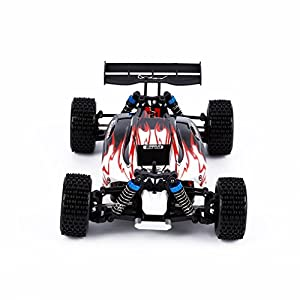 RC Car, Electric Remote Control Truck, YKS® WLtoys A959 2.4G 1:18 4WD High Speed Off-Road Monster Hobby Truggy Toys (Red) - 41H0C1vWTaL - RC Car, Electric Remote Control Truck, YKS WLtoys A959 2.4G 1:18 4WD High Speed Off-Road Monster Hobby Truggy Toys (Red)