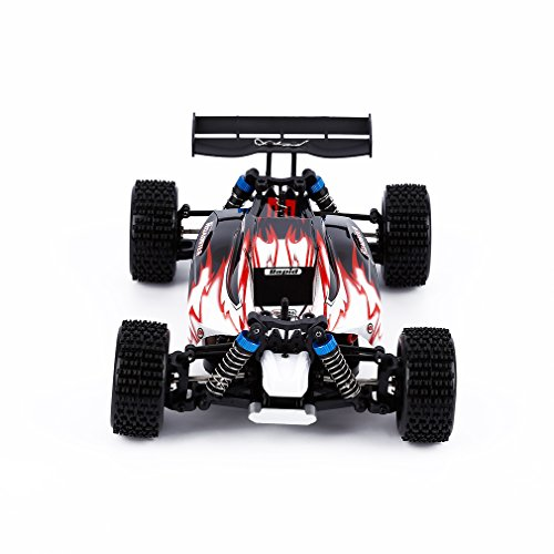 RC Car, Electric Remote Control Truck, YKS® WLtoys A959 2.4G 1:18 4WD High Speed Off-Road Monster Hobby Truggy Toys (Red) Price