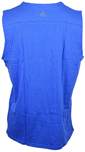 - Russell Athletic Men's Dri-Power 360 Sleeveless Muscle Performance T-Shirt (S, Cgt. Blue)