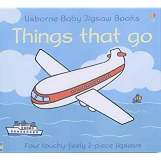 Things That Go (Usborne Touchy-feely)