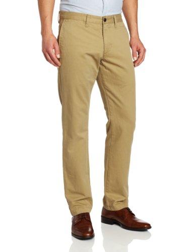khaki cotton pants - 7