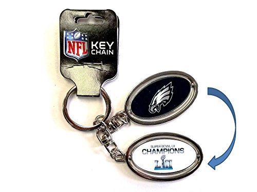Philadelphia Eagles Super Bowl LII 52 Champions Key Ring (2018 Super Bowl Ring)