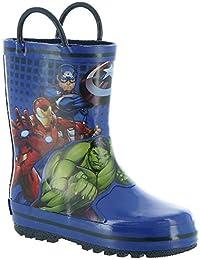 Boy's Avengers Rain Boots AVS505 (Toddler/Little Kid)