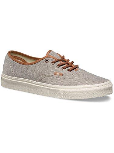 Vans Authentic Dx Hombres Size 6.5 Cepillado Desert Desert Taupe Gris Moda Zapatillas De Skate