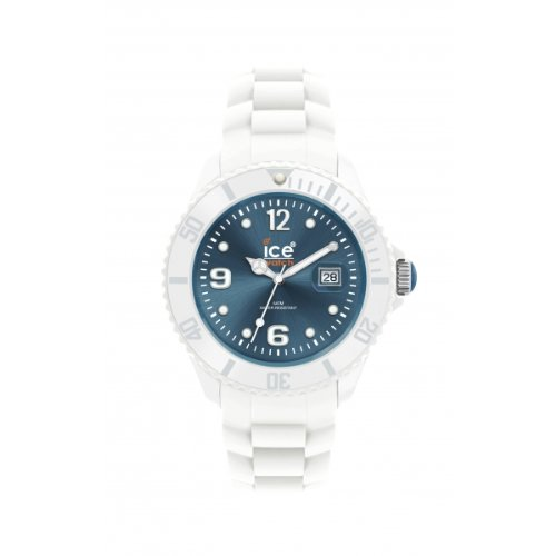 ice blue dial watch - 3