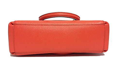 Crossgrain Coach Christie in Bright Carryall Orange Leather CCHqwp1n