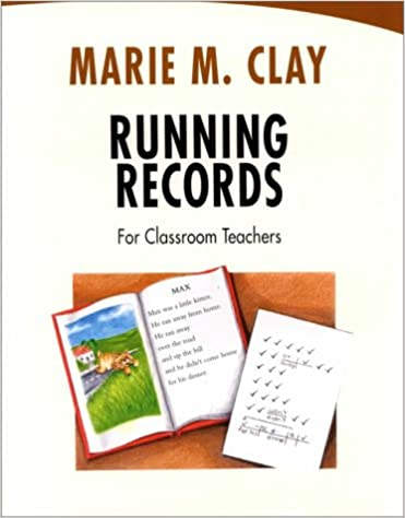 recovery running records marie clay