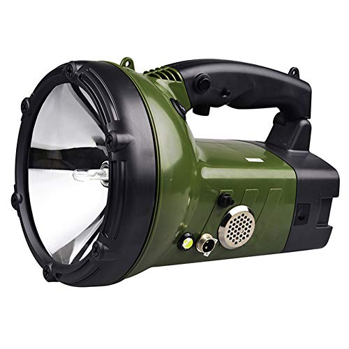 HID Xenon Handheld Searchlight Car Work Lights Chargable Spotlight,for Car Boat Offroad Vehicle Driving Outdoor Fishing Light Hunting Camping Patrol Light Flashlight (Color : 55W)