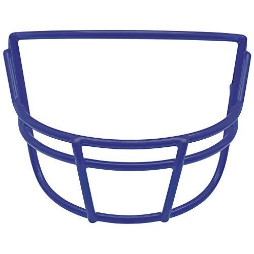 Schutt Sports Super Pro Carbon Steel Varsity OPO Football Faceguard, Royal Blue ()