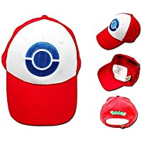 cosplay? Pokemon - Ash Ketchum - Blanco/Rojo