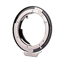 XCSOURCE Programmable Lens Adapter with the LATEST EMF AF Confirm Chip for Mounting Nikon AI(G) Lens to Canon EOS Camera DC747