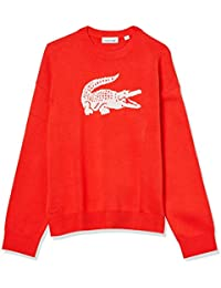 Women's Crewneck Big Croc Interlock Sweater