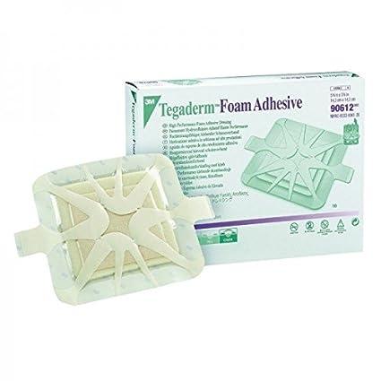 Tegaderm Foam INTERMED-Cenefa Adhesiva Medicación de Espuma de Tpu Con Borde-Pegatinas 6