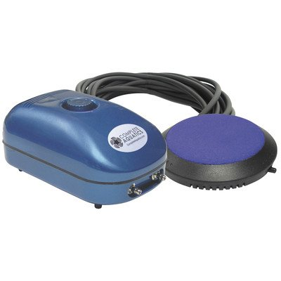 Complete Aquatics AE40080 EnhanceAir Junior 1 Aeration System with 1 Diffuser and for Ponds upto 1,000 g