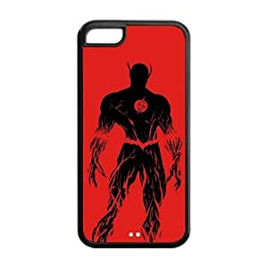 the Case Shop- Customized the Flash TV Show TPU Rubber Case Cover Skin for iPhone 5C , i5cxq-697