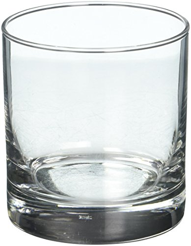 Libbey 4-Piece Heavy Base Old Fashioned Glasses, 11-Ounce, Clear (Rocks Double Old Fashioned)