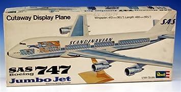 Revell H-177 - Maqueta de avión Boeing 747 (con Interior ...