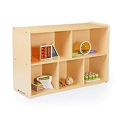 Guidecraft 5-Compartment Storage Shelves...