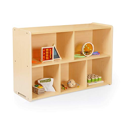 Guidecraft 5-Compartment Storage Shelves 30