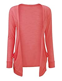 Girls Boyfriend Long Sleeve Plain Open Cardigans Top 7-13 years