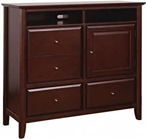 Modus furniture 1x5089 city ii media chest for Bedroom furniture amazon