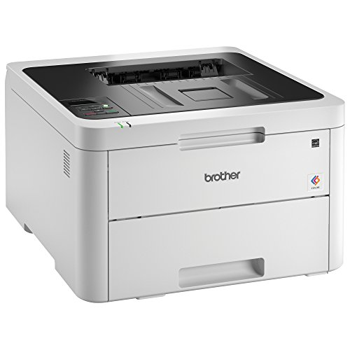 Brother Compact Color Printer Laser Printer with Wireless Printing, Replenishment Enabled