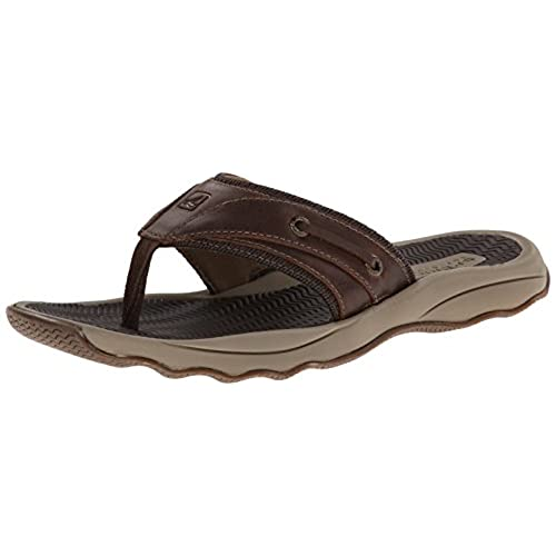 bffd88e18e7 on sale Sperry Top-Sider Men s Outer Banks Thong Fisherman Sandal ...