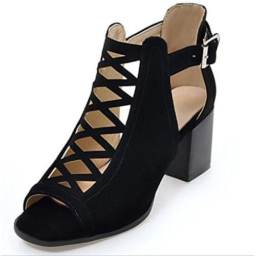 SHINIK Mesh ShoesLadies Chaussures Net Fish Mouth Sandales à talons hauts Printemps Eté Talons hauts