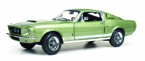 1967 Ford Shelby Mustang GT500 GT 500 Light Green 1/18 by Autoworld (Shelby Gt500 Replica)