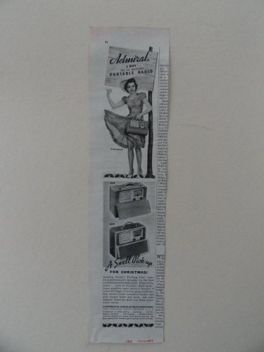vintage admiral radio - 8