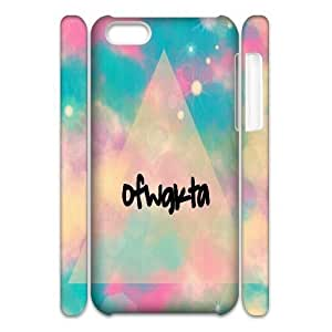 Customized OFWGKTA iPhone 5c 3D Case, OFWGKTA DIY 3D Case for iPhone 5c at Lzzcase
