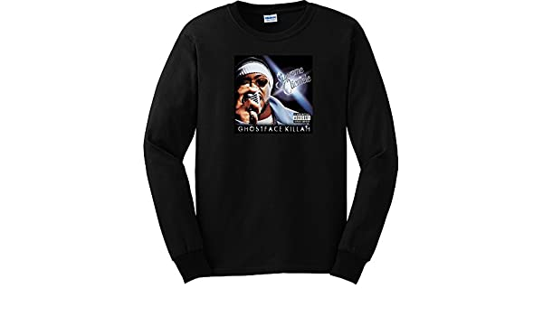 7e876072 Ghostface Killah Supreme Clientele Long Sleeve Shirt (Medium, Black) |  Amazon.com