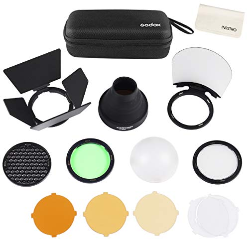 Godox AK-R1 Accessories Kit for Godox H200R Ring Flash Head Godox AD200 / AD200Pro / Godox V1 Round Head Flash Accessories with Magnetic Port Easy to Use