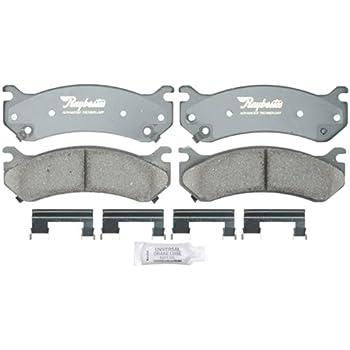 Disc Brake Pad Set-Advanced ATD843C Ceramic Disc Brake Pad Front Raybestos