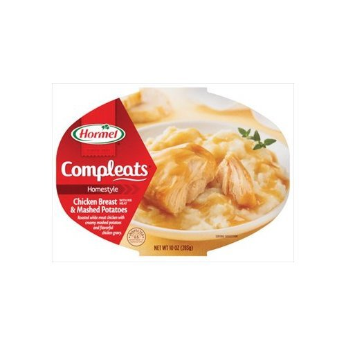Hormel Homestyle Compleats Chicken Breast & Mashed Potatoes 10 oz (Pack of 6) by Hormel