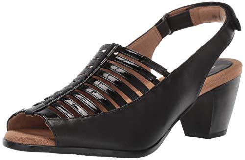 Trotters Women's Minnie Sandal Black, 8.0 W US
