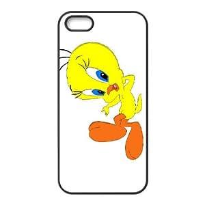 Tweety Bird iPhone 4 4s Cell Phone Case Black pbf oinzb