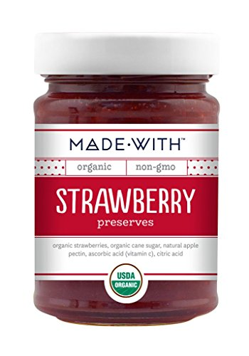 Made With Organic Preserves Strawberry, 11 (Organic Strawberry Jam)